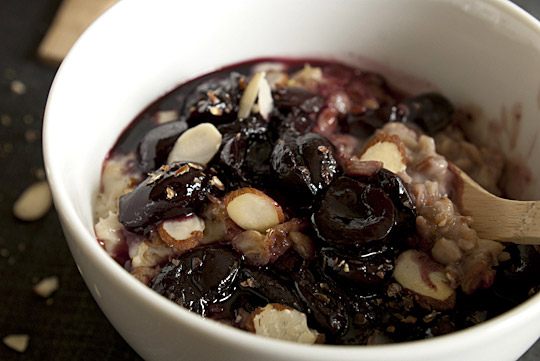 Grain Cereal with Cherries