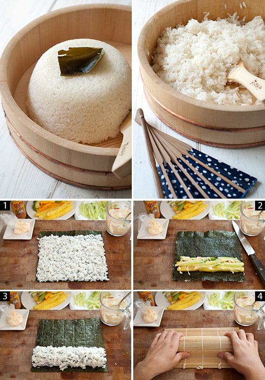 sushi making process
