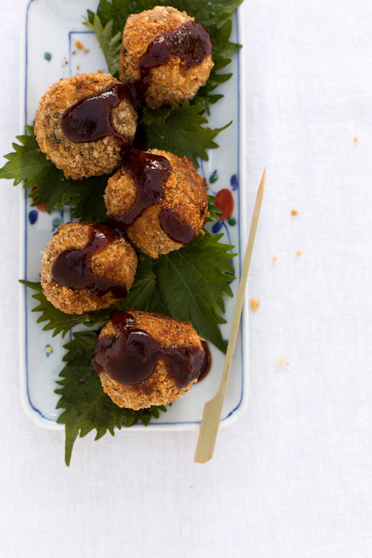 shiso croquettes