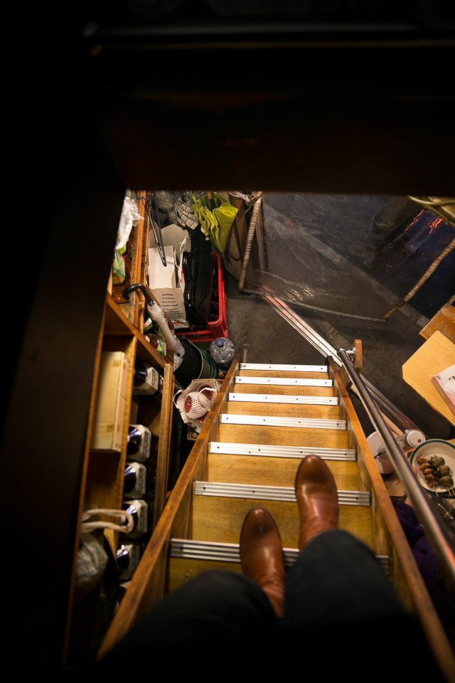 Stairs at a izakaya