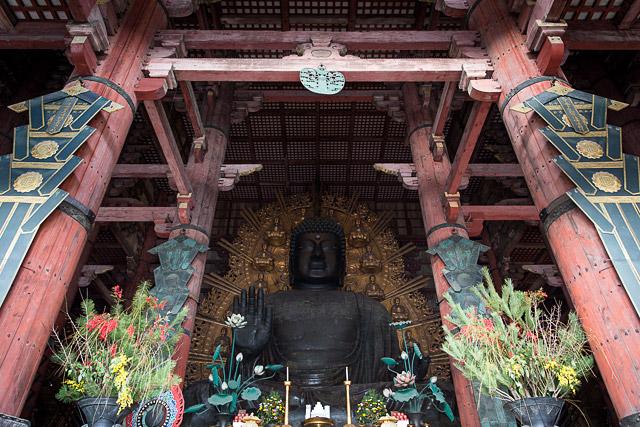 Daibutsu at Toudaiji temple