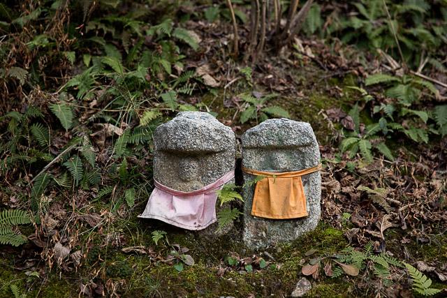Jizous at Kiyomizu temple