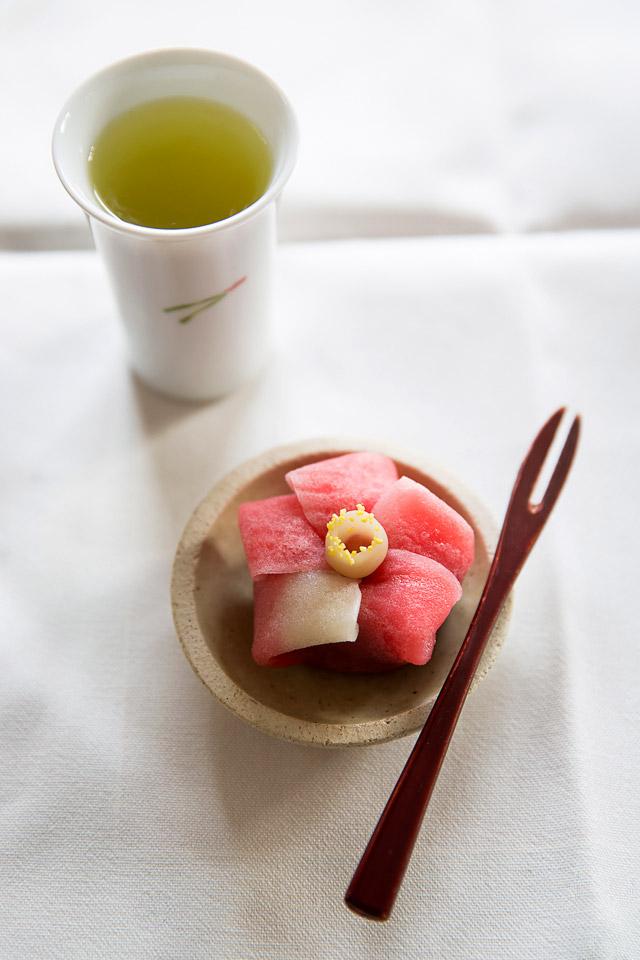 wagashi from Tsuruya